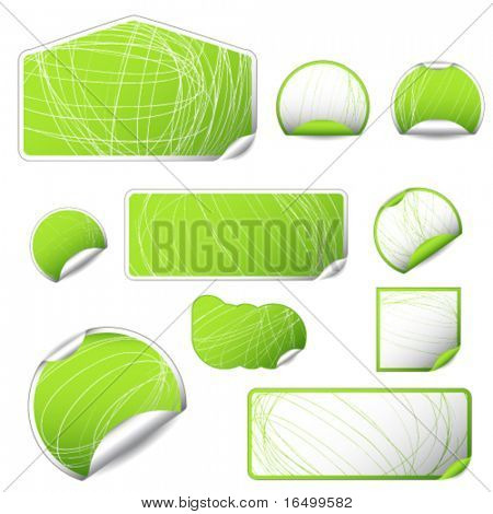 Blank Eco Stickers