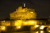 stock photo of spqr  - Castel Sant - JPG