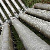 stock photo of hydro  - Water pipeline to Hydro - JPG