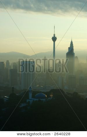 KL Stadt skyline