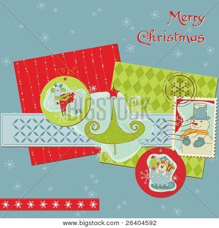 Christmas Design Elements - for scrapbook, design, invitation, greetings