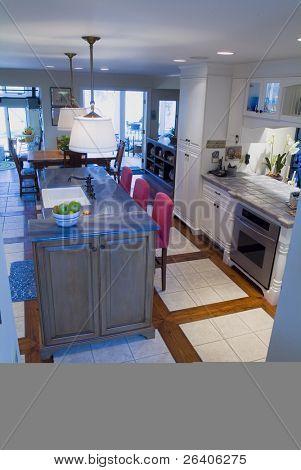 Elegant custom designed country kitchen