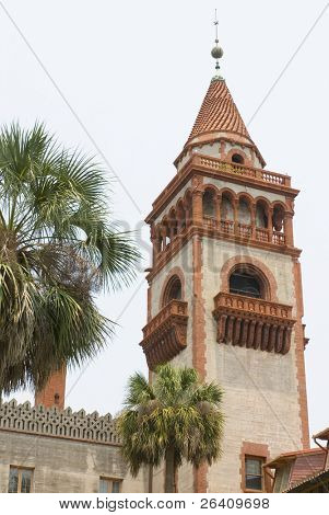 Flagler College St. Augustine Florida building tower 01