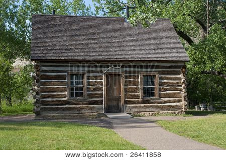 Theodore Teddy Roosevelt historic log cabin