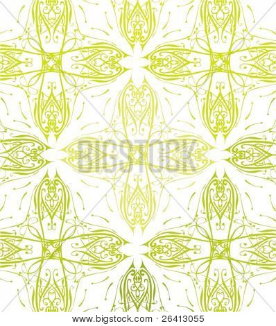 retro floral pattern,vector illustration