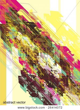 abstract digital vector background (no.2)