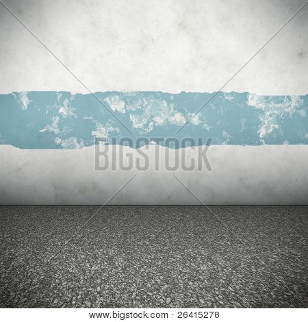An image of a nice colored wall for your content