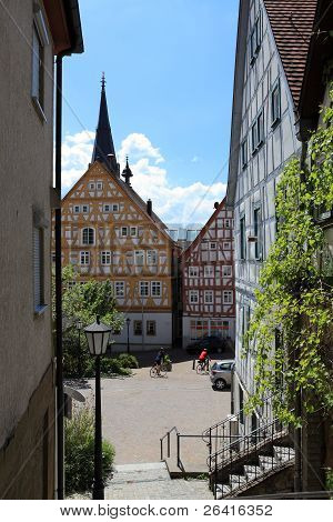 Historic old german town