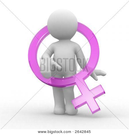Weibliche Symbol