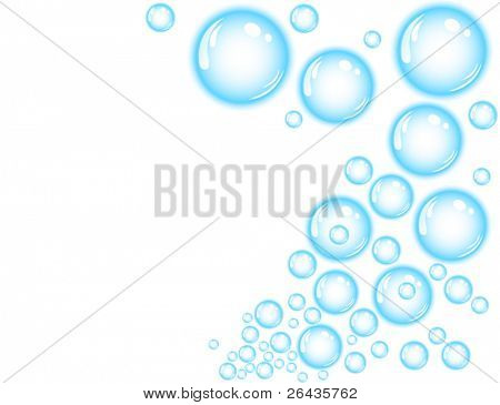 blue bubble splash
