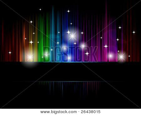 Dark colorful background
