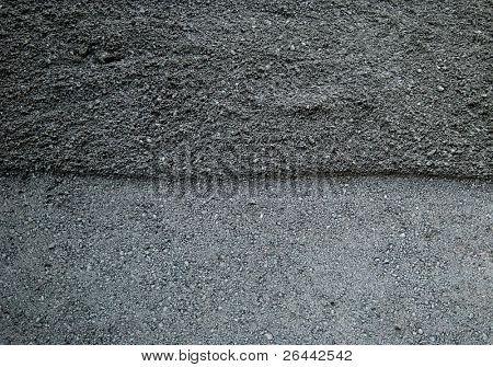Fresh asphalt tar tarmac