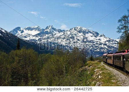 Train Through Alaska