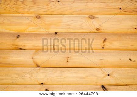 background pattern of natural pine balk wall