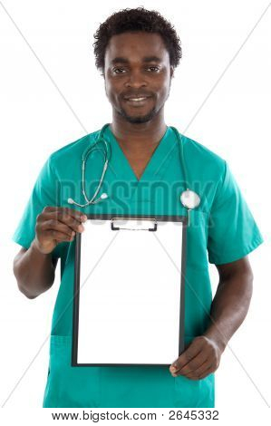 Doctor Whit Clipboard