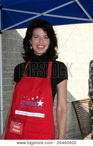 LOS ANGELES - NOV 30:  Joan Severance at the Hollywood Chamber Of Commerce 17th Annual Police And Fire BBQ at Wilcox Station on November 30, 2011 in Los Angeles, CA