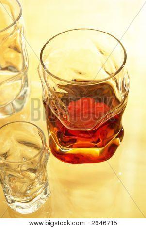 Glasses Of Alcool