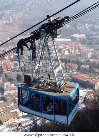 Rope-way Maintenance In San-marino
