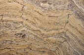 Surface Of The Marble With Brown Tint. Onyx Texture Of Natural Stone, Brown Background. High Resolut poster