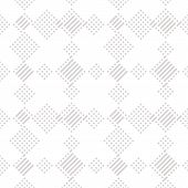 Vector Geometric Lines Pattern. Abstract Graphic Ornament With Diagonal Stripes And Small Squares. S poster