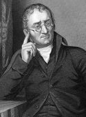 John Dalton (1766-1844). Engraved by C.Cook and published in Chemistry, Theoritical, Practical & Ana