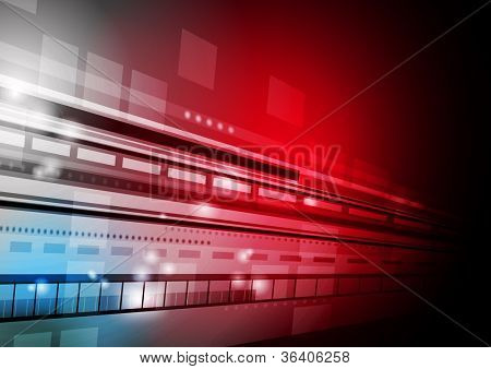 Abstract technology background. Vector illustration eps 10