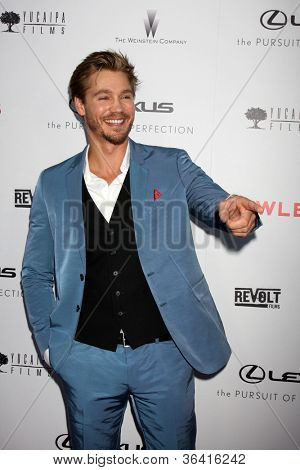 "LOS ANGELES - AUG 22:  Chad Michael Murray arrives at the ""Lawless"" LA Premiere at ArcLight Theaters on August 22, 2012 in Los Angeles, CA"