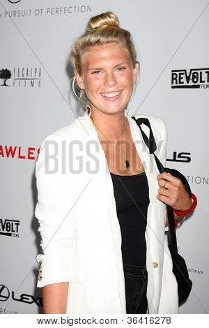 LOS ANGELES - AUG 22: Alexandra Richards kommt bei der