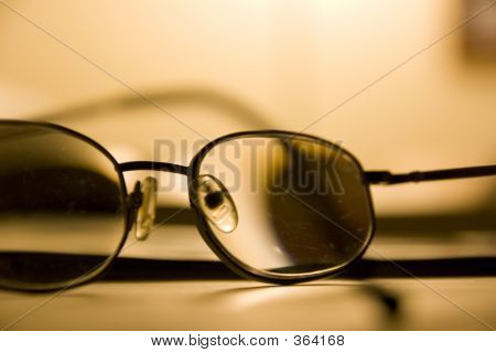 Abstract Eye Glasses