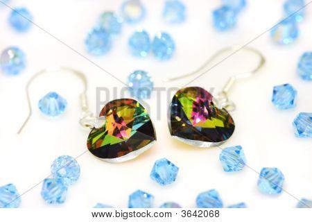 Swarovski  Earrings And Beads