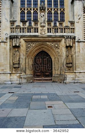An Entryway Into Bath Abbey