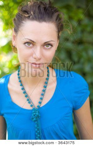 Woman At Summer