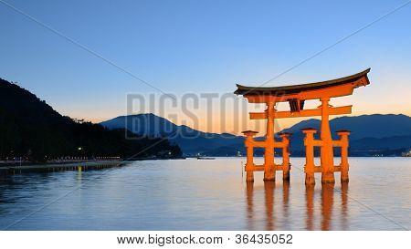 The Itsukushima