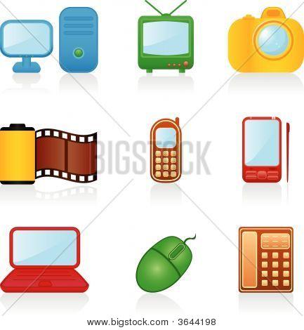 Icon Set Media