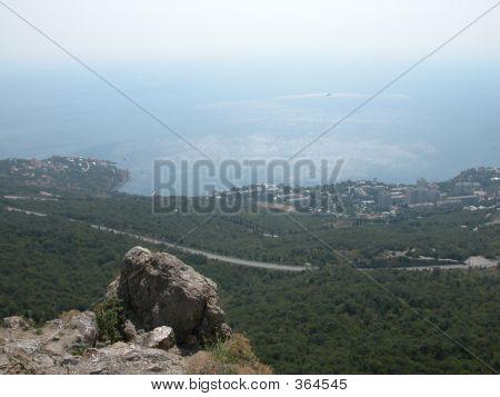 View On Black Sea Coastalupka