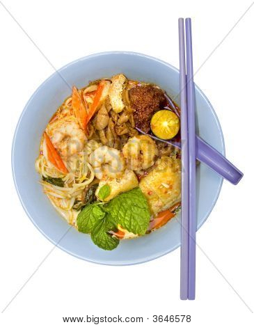 Penang Hawker Curry Mee