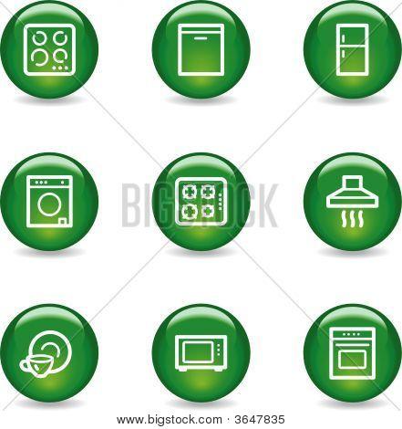 Home Appliances Web Icons