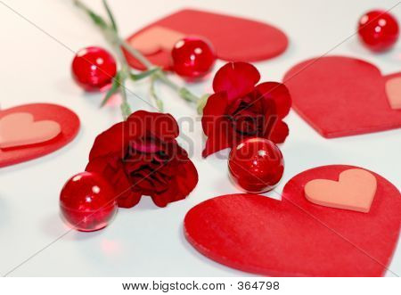 Hearts And Carnations