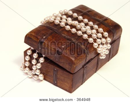 Jewelry Box And Beads
