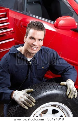 Professional Auto mechanic. Car repair service.