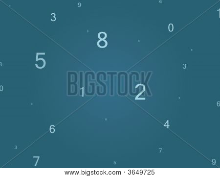 Numbers In Space