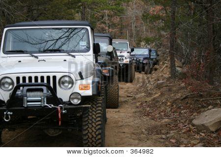 Frente de jeeps