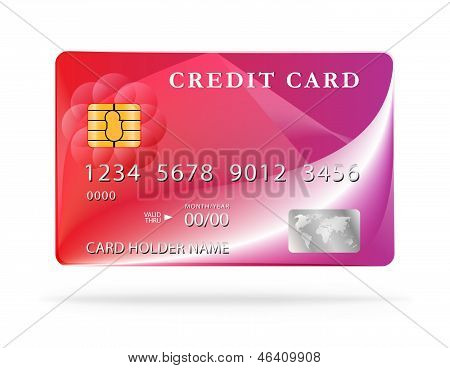 Credit Card Design Template