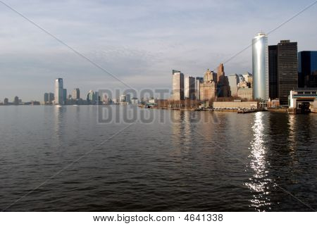 Manhattan And Jersey City