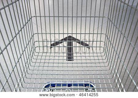 Shopping Cart Following The Way