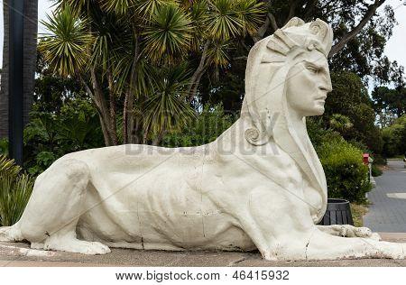 Sphinx Like Sculpture