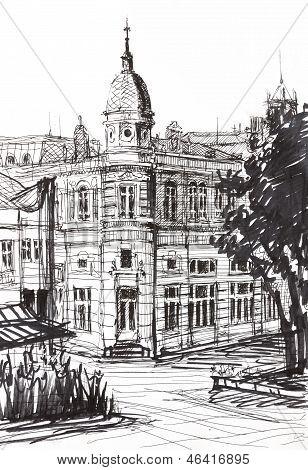 Ink Building Landmark
