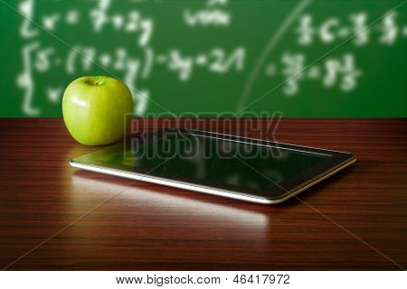 Digital Tablet And Apple