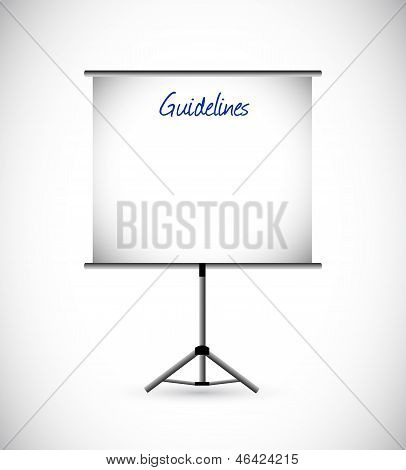 Guidelines Presentation Illustration Design
