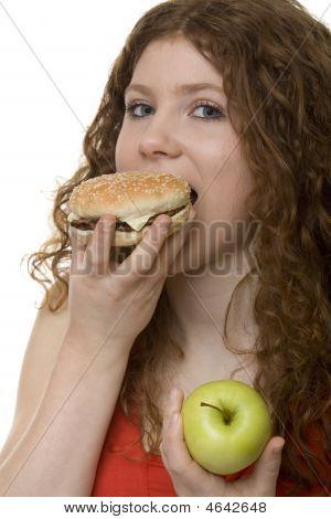 Fastfood Or Apple